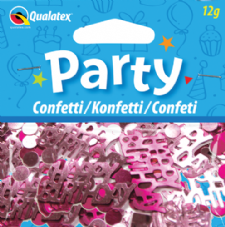 Pink Happy Birthday Qualatex Confetti 12g